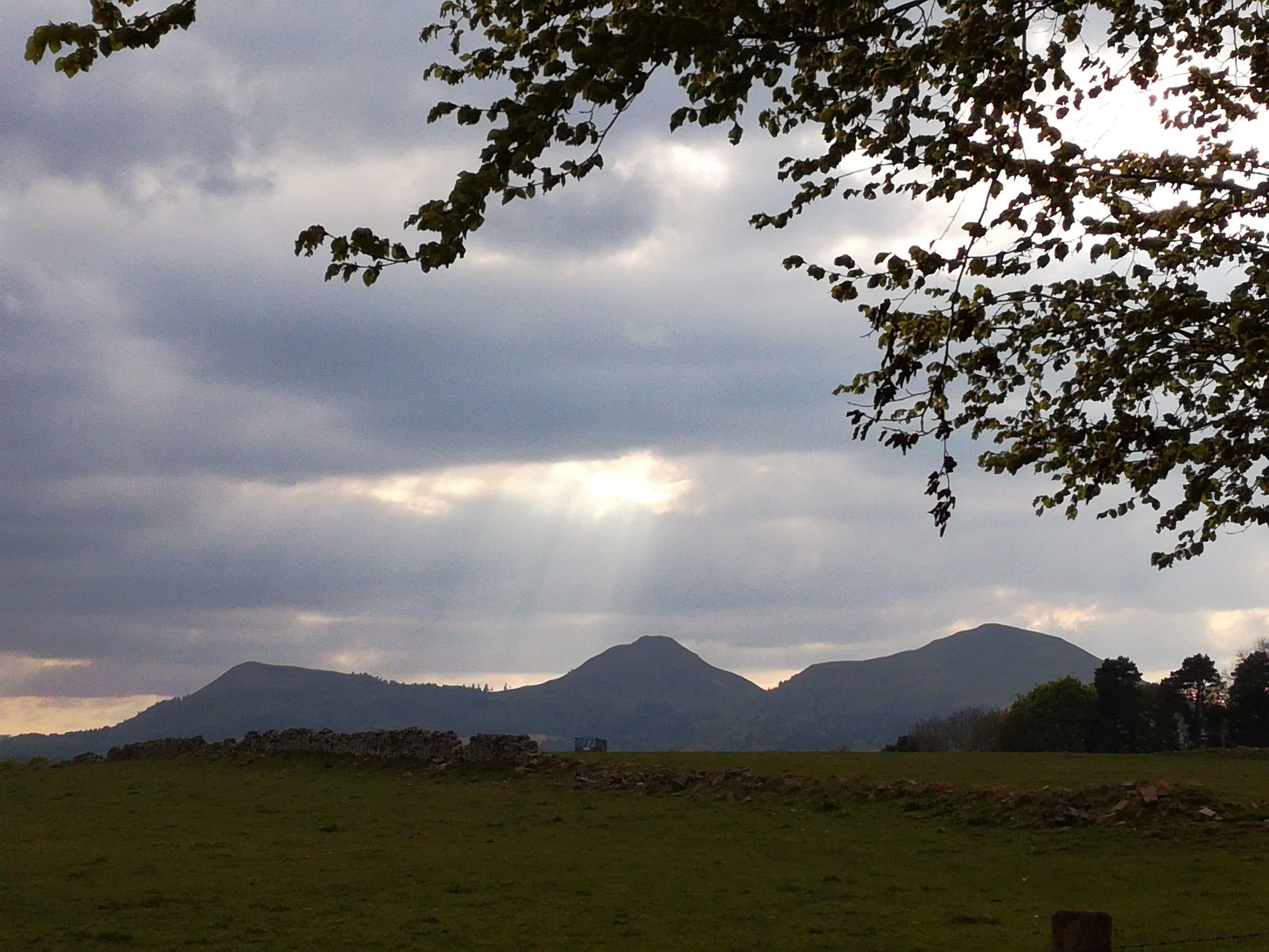 Eildon Hills, Tour & Walk Scotland in small group adventures - Roaming Scotland. jpg