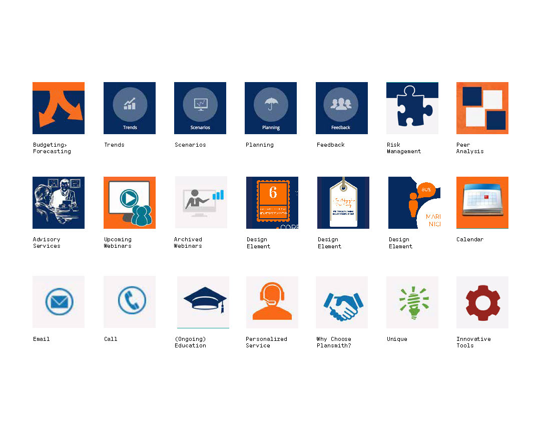 Iconography audit concluded with a myriad of styles used inconsistently.