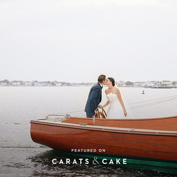 Emily + James stunning wedding featured on #caratsandcake!