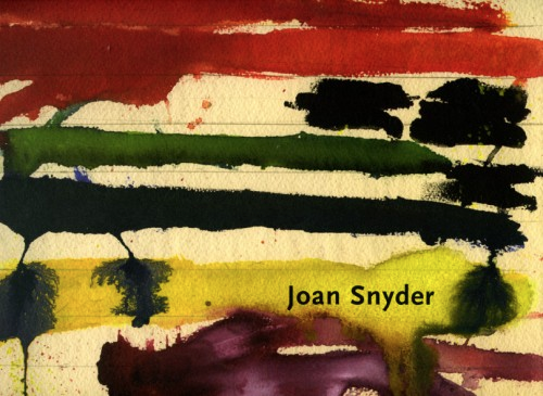 Joan Snyder: Works on Paper: 1970s and Recent - Exhibition catalogue, essay by Jenni Sorkin, Alexandre Gallery, NYC, 2004