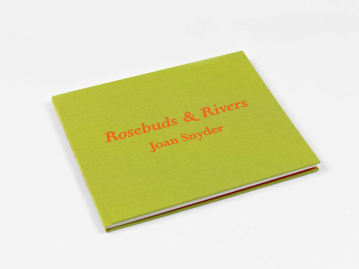 Joan Snyder: Rosebuds & Rivers - Exhibition catalog, essays by Craig Burnett and Rhonda Lieberman, and artist interview with Mary Schneider-Enriquez. Edited by Rowena Chiu. Blain|Southern Gallery, 2019.