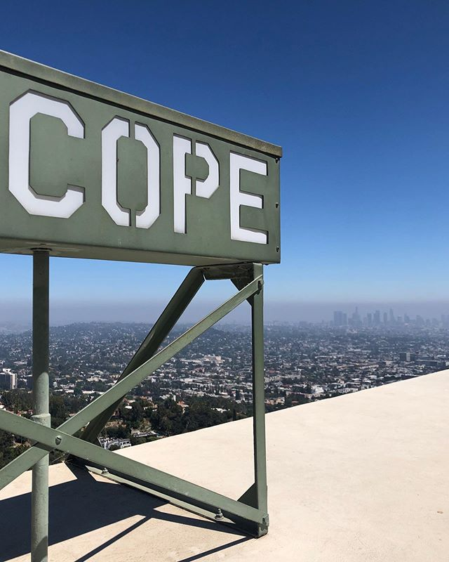 Los Angeles observed from Griffith Observatory 🔭 _______________________________________________________  #LosAngeles #LA #LaLaLand #GriffithObservatory