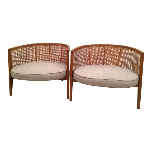Pair of Harvey Probber Hoop Chairs