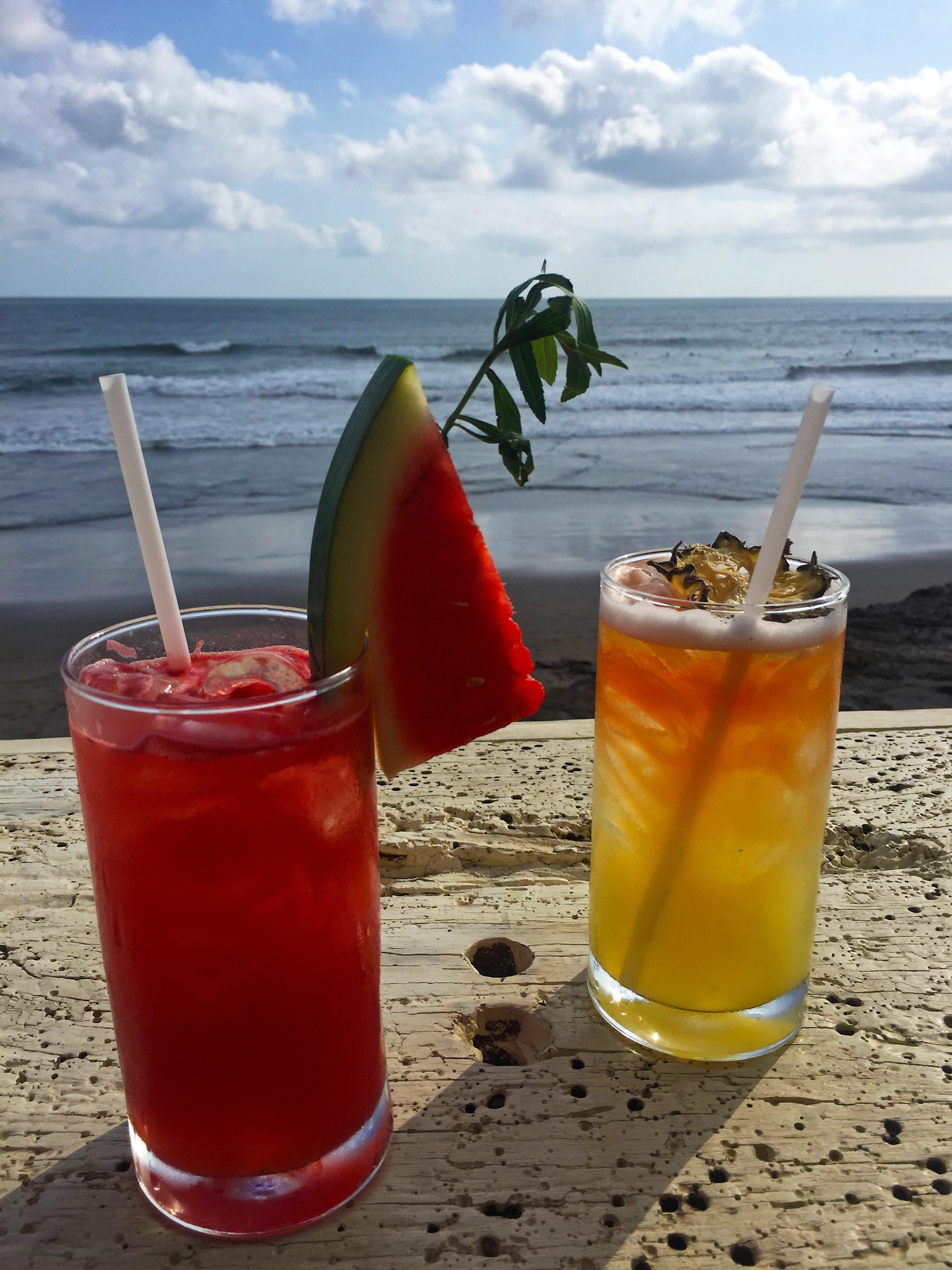 La Brisa beach club Canggu, Bali cocktails