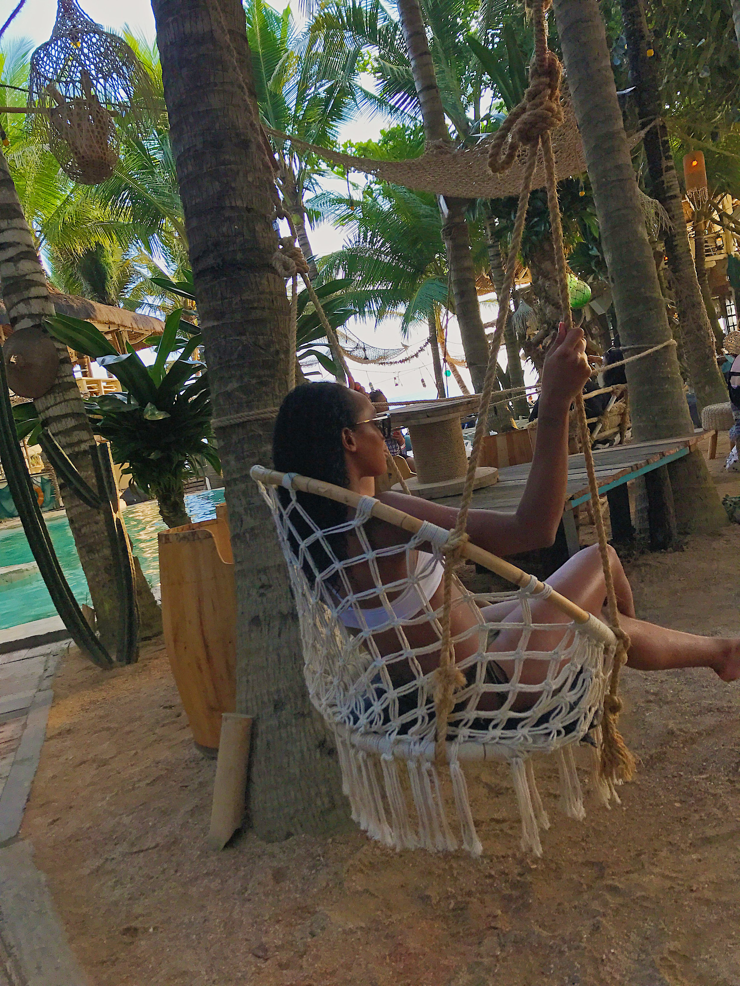 La Brisa, Bali swing chair HelenaAlyssa