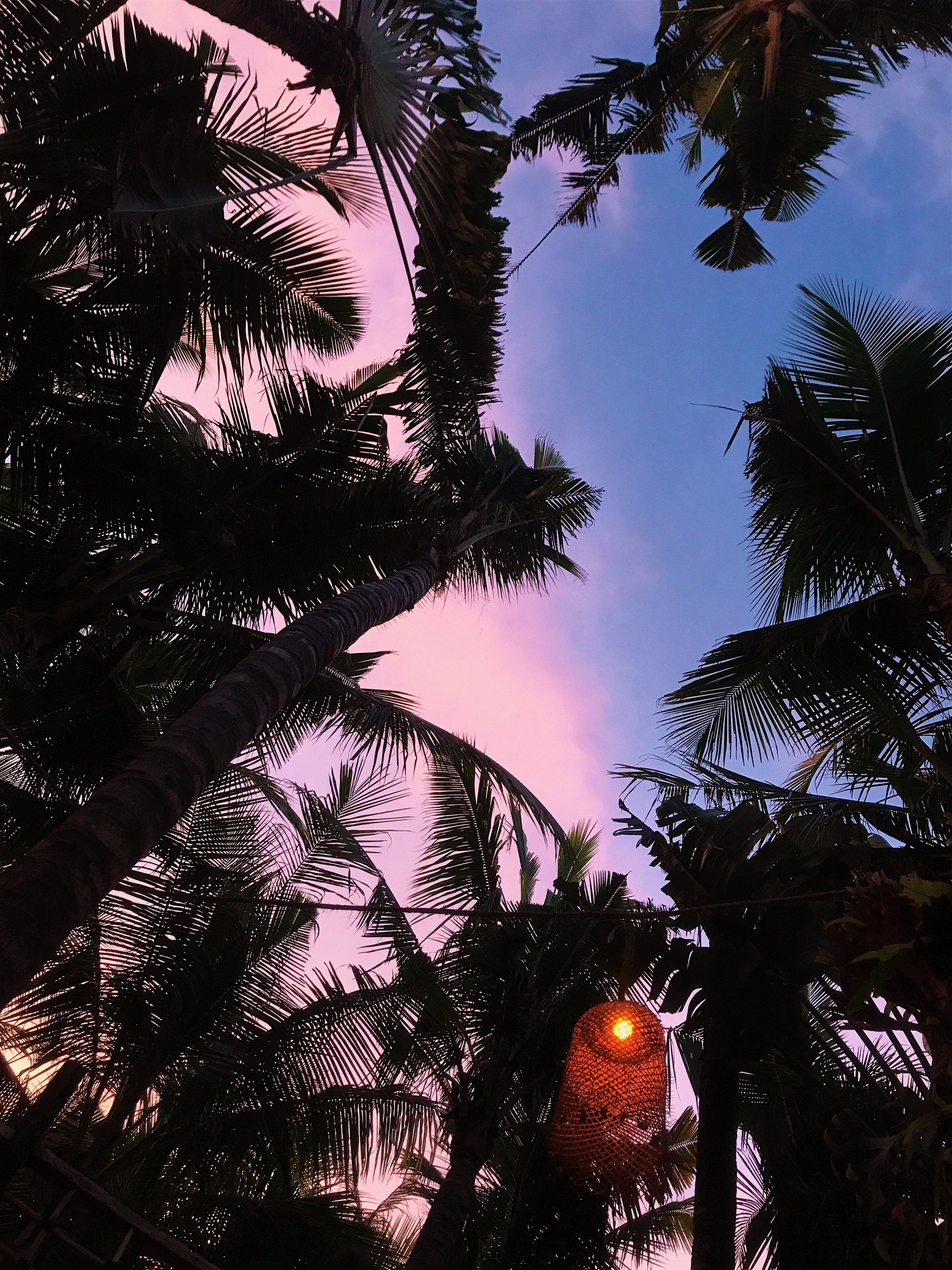 Sunset at La Brisa Canggu Bali