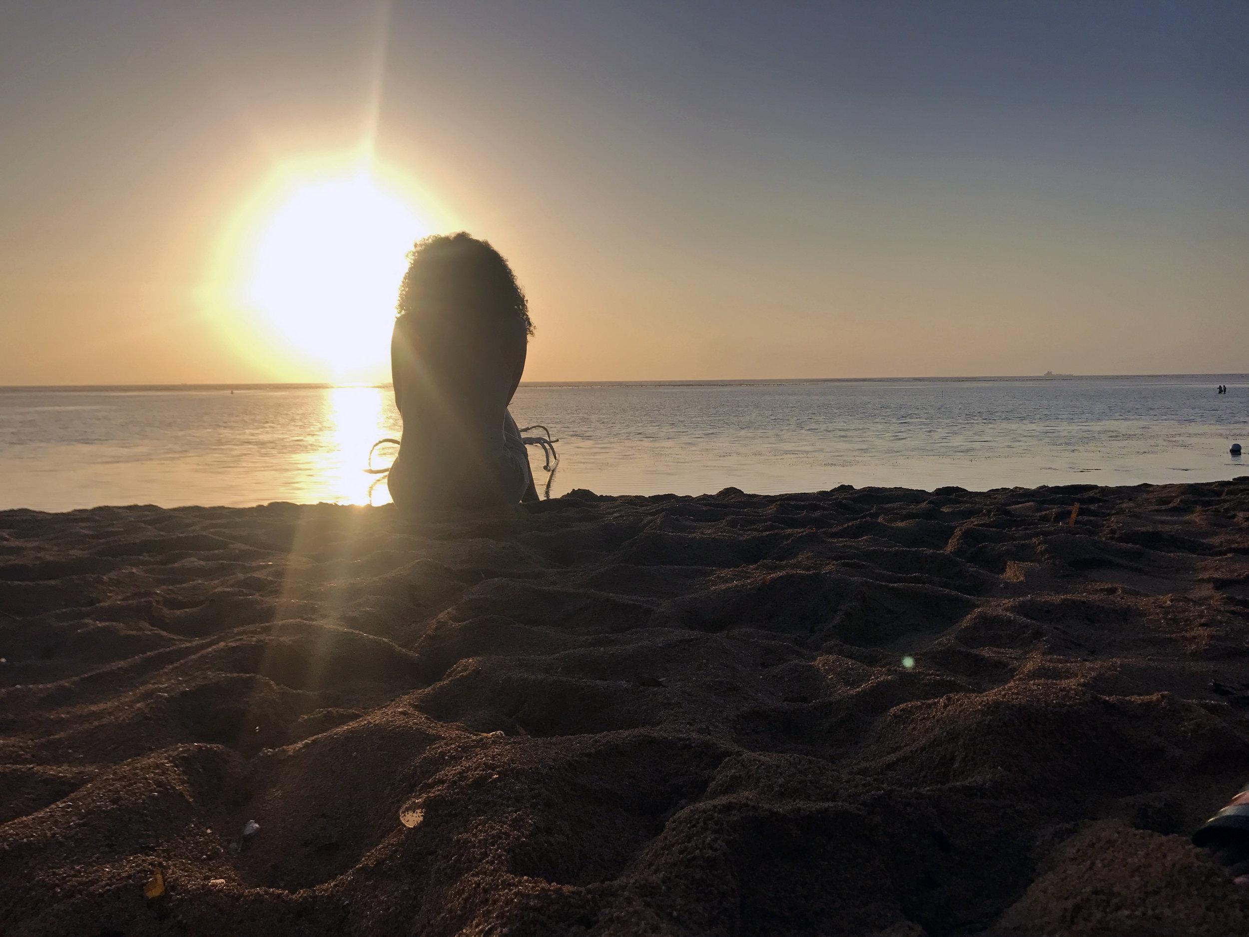 Sunrise at Sanur Beach, Maya Sanur