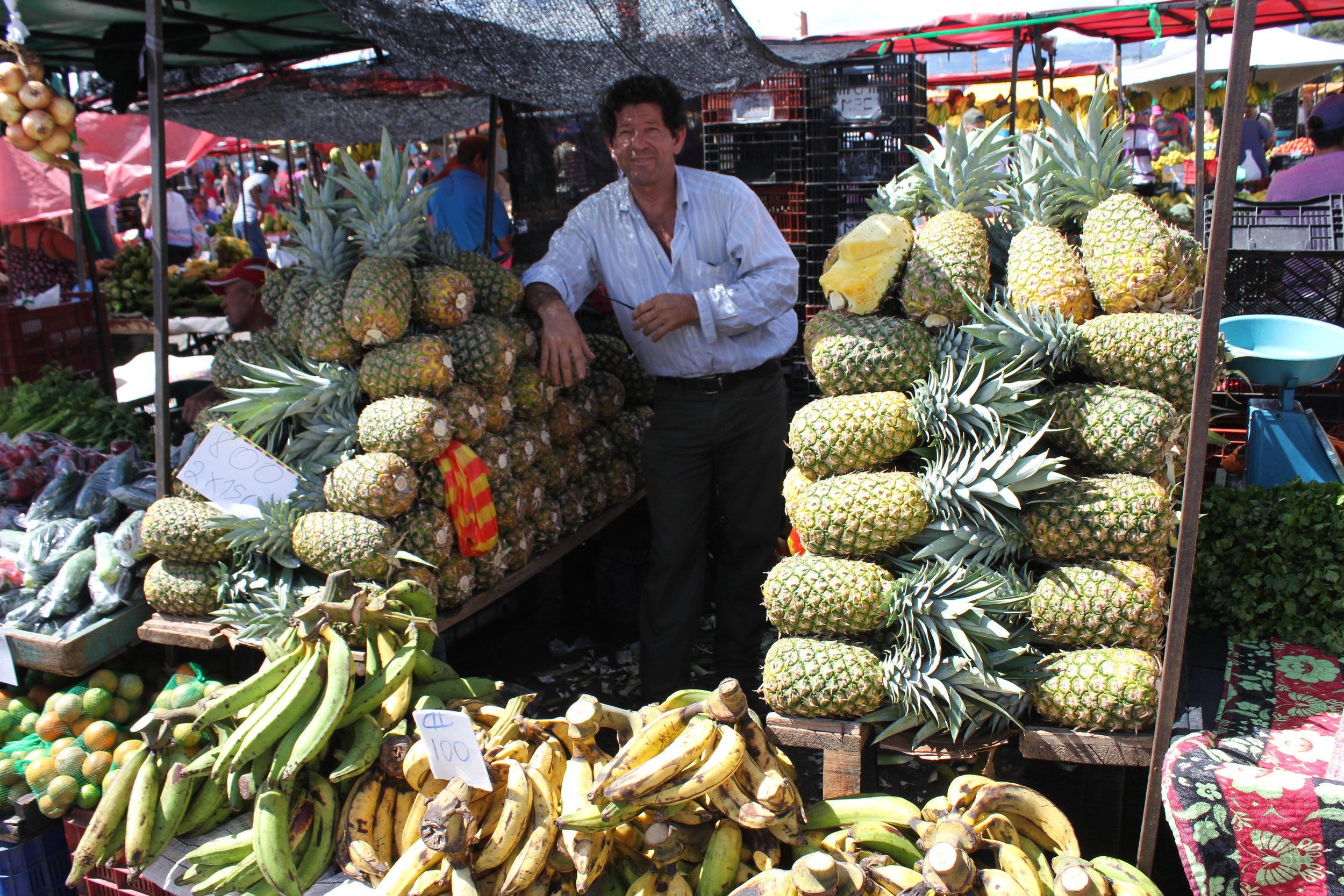 Zapote Farmers Market, San Jose, Costa Rica