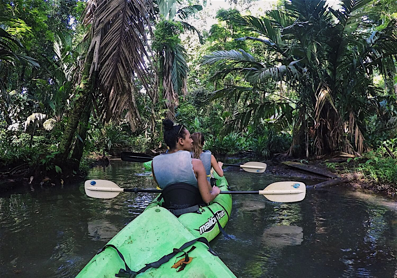 Kayaking in Tortuguero National Park, Costa Rica   Helena Alyssa