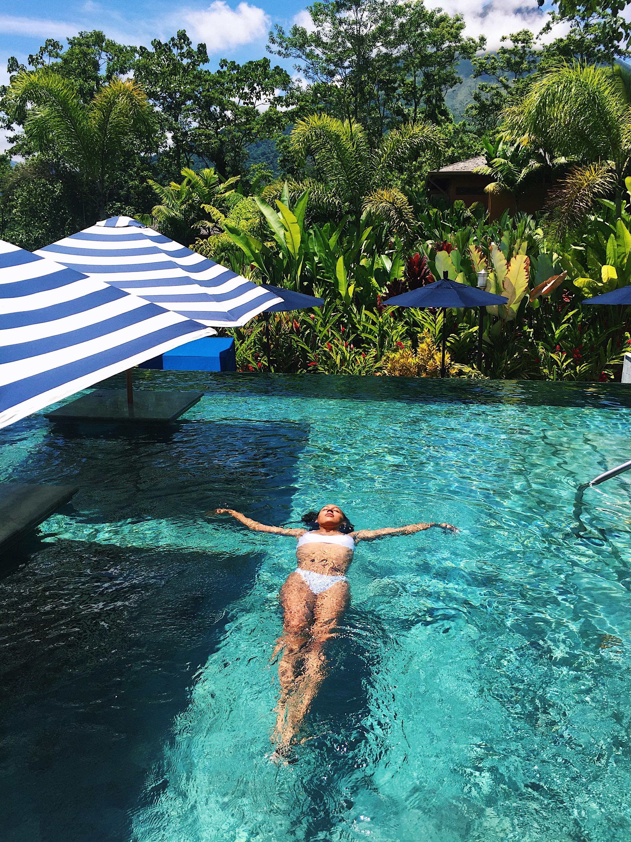 Nayara Hotel swimming pool, Costa Rica   Helena Alyssa