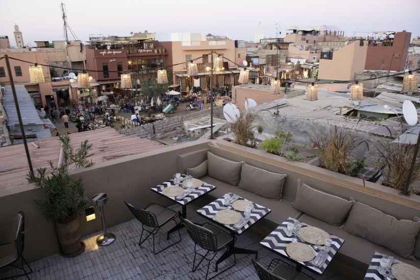 Noman Cafe, Marrakech | Helena Alyssa