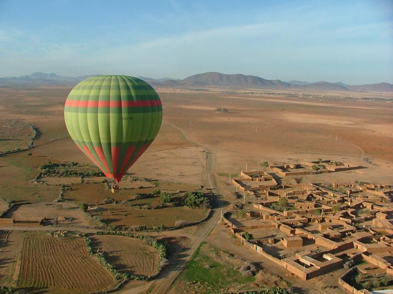 Hot air balloon, Marrakech | Helena Alyssa