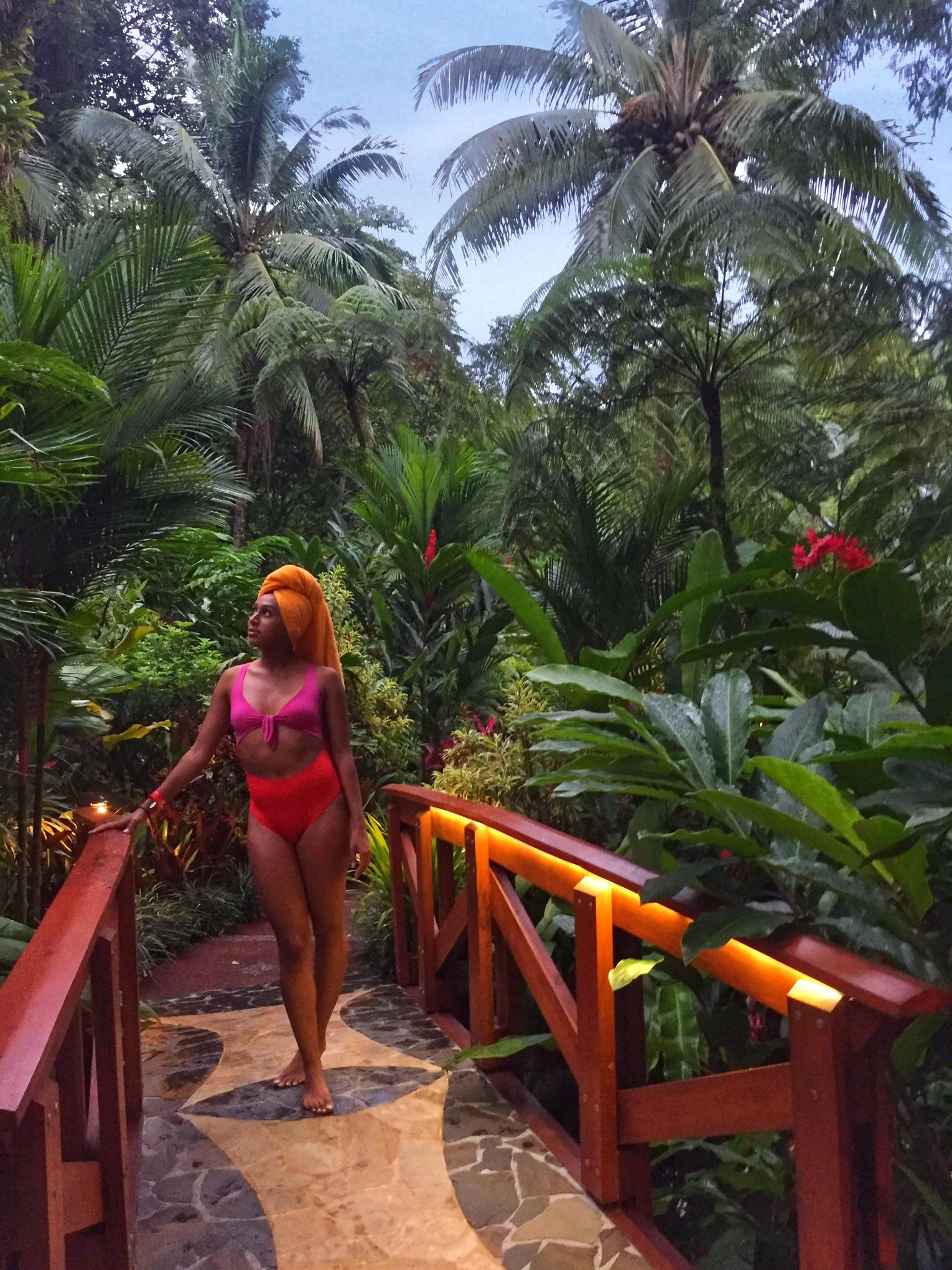 Tabacon Hot Springs, Costa Rica   Helena Alyssa