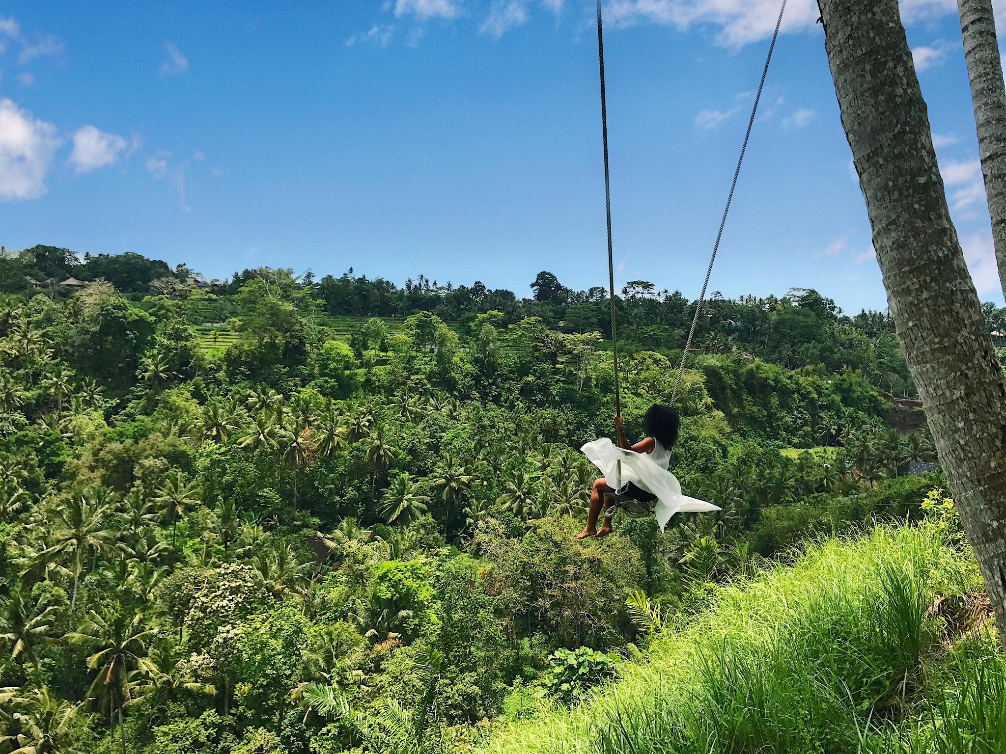 Bali swing at Zen Hideaway, Ubud   Helena Alyssa