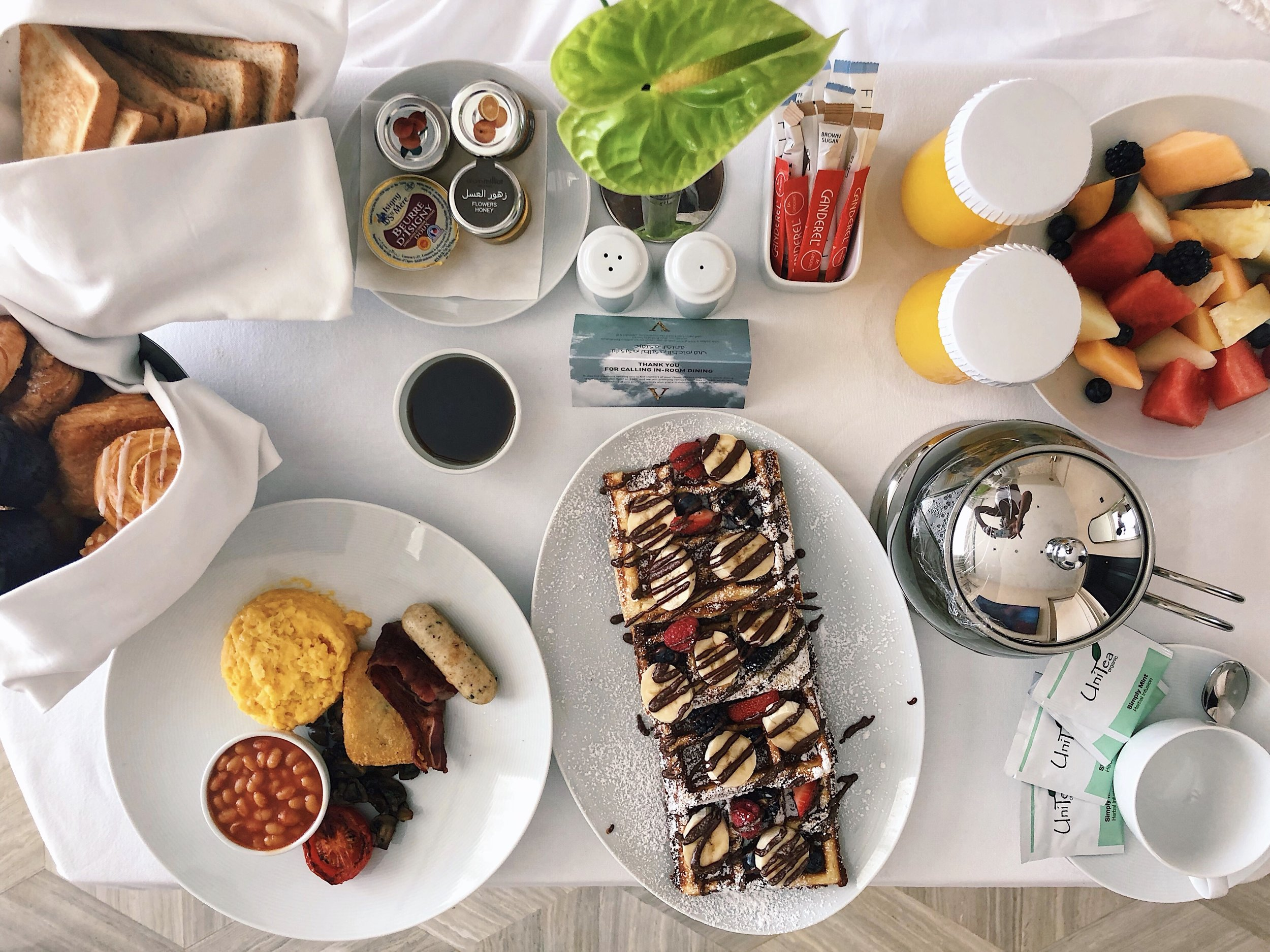 Five Palm Jumeriah breakfast review | Helena Alyssa