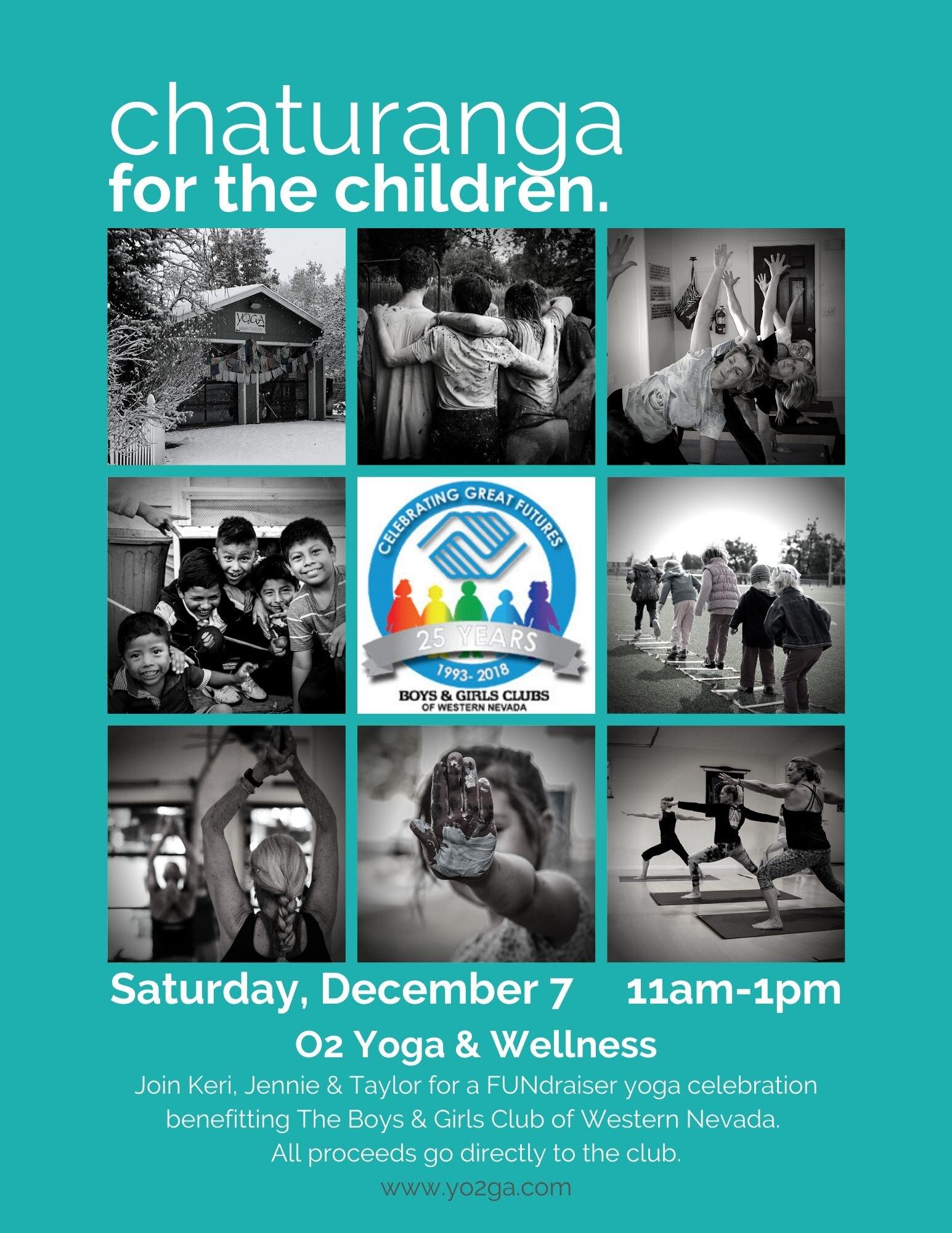 Chutarunga For The Children O2 Yoga Wellness
