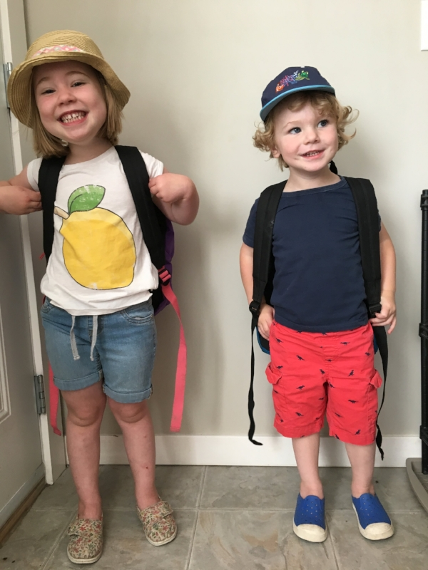 At the beginning of July Eloise and Ezra got to go to a half day camp through the town of Taylor! It was a great time of crafts and lots of activities to tucker them out