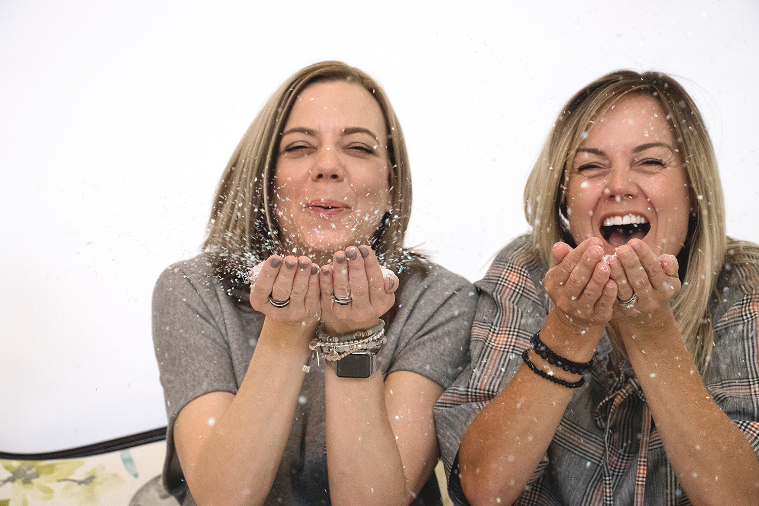 Heather Park (left) and Patti-Jo Pumble (right)