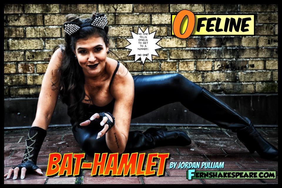 Simone Alene as Ophelia/Ofeline in Bat-Hamlet