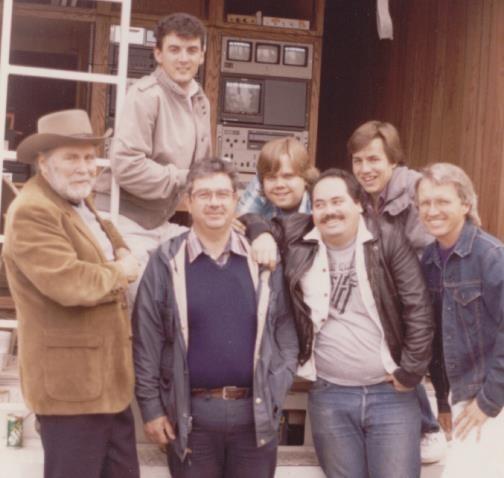 1987,  Bob Bowditch, Darrin Mclaulin, Bill Sinatra, Matthew Beck, Joe Sage, Darrin and Tom Reeser