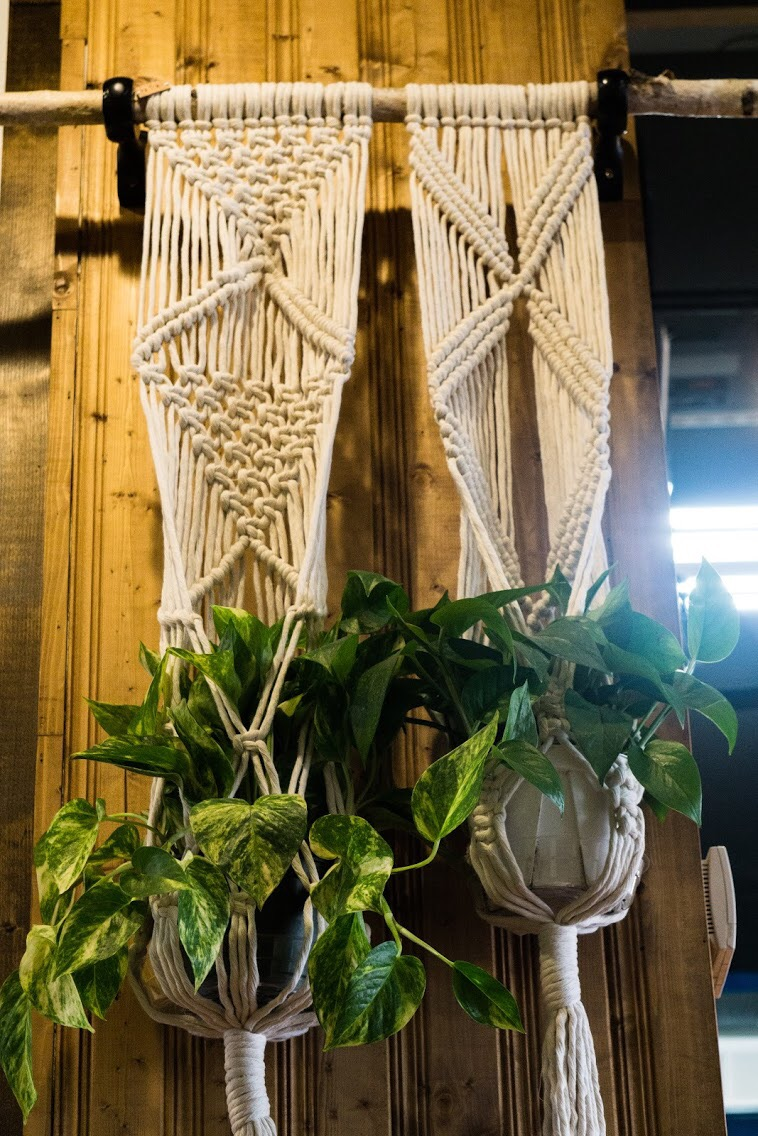 Another custom macrame piece.