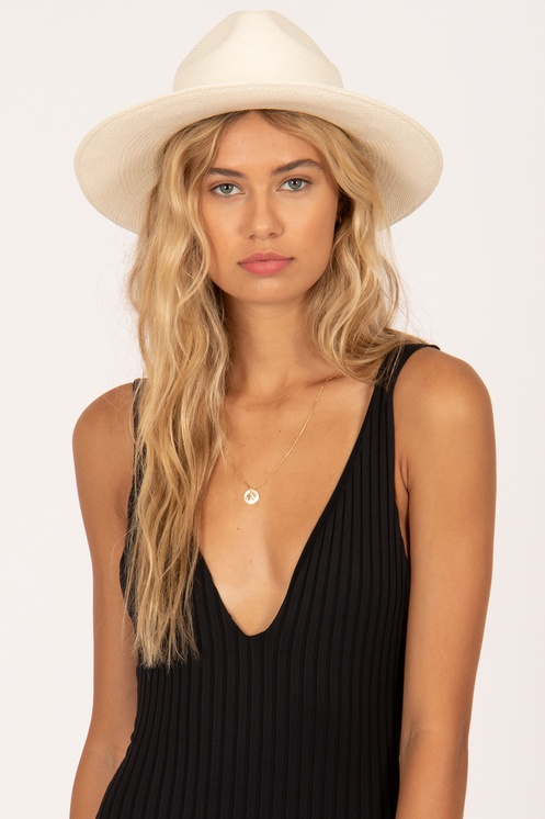 The Solange Hat is ready for vacation and any occasion! -