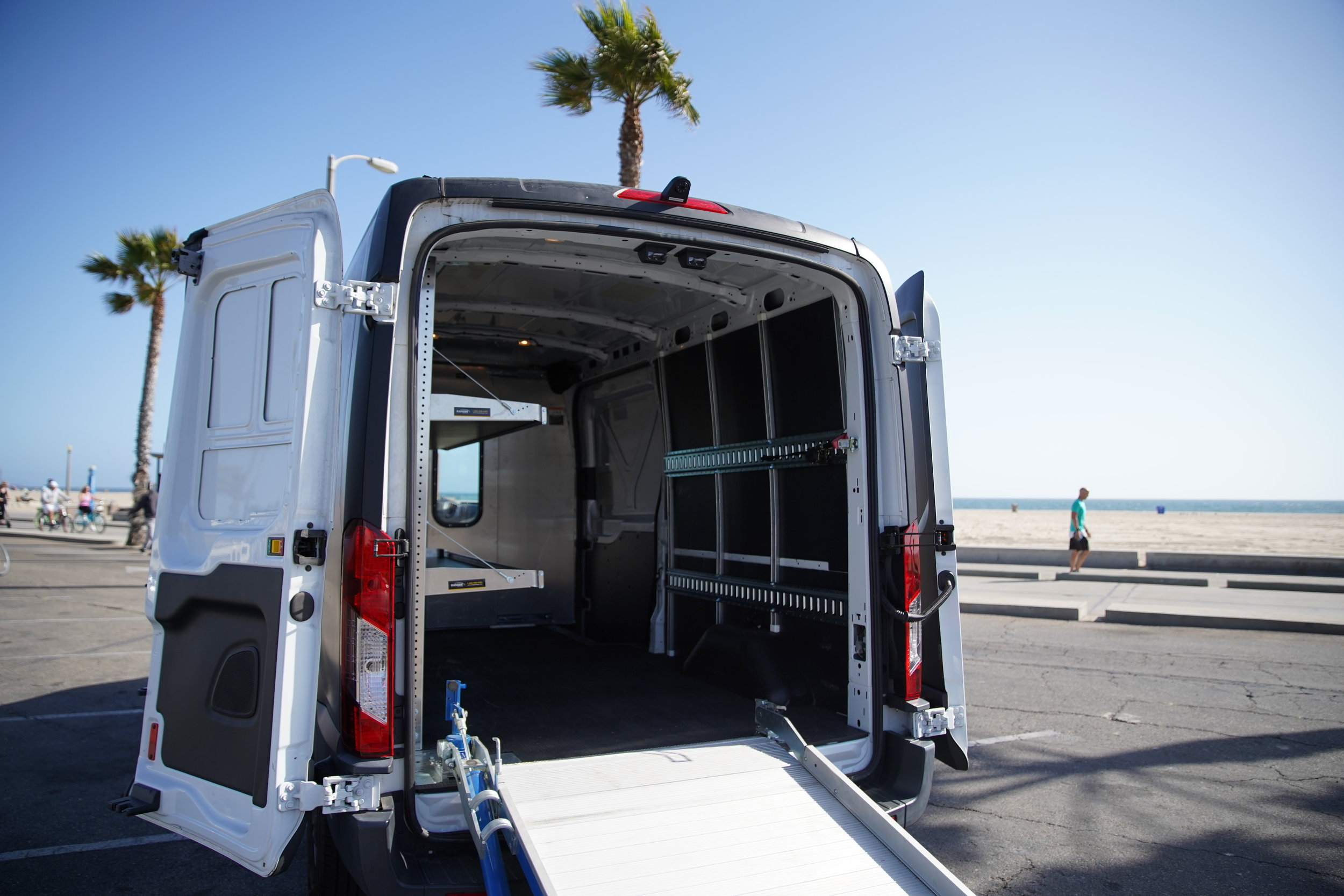 Camera Utility Van Interior