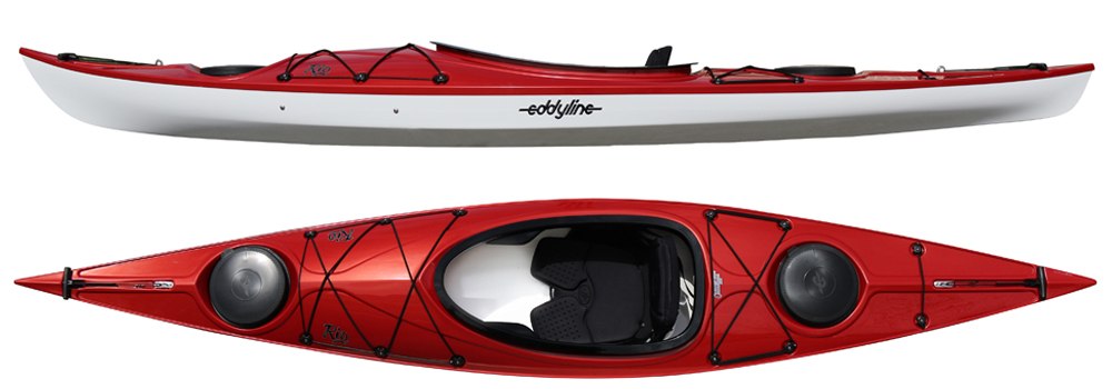 Rio:  The Rio is expressly designed for the small to medium paddler looking for a recreational style kayak with spirited performance and nimble handling. At just under 12 feet in length and only 35 pounds, the Rio presents a delightful combination of comfortable stability with a playful and efficient hull.