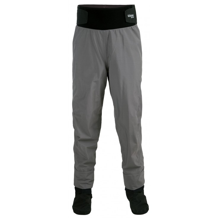 Hydrus 3L Tempest Pant:  Combining fit, function and superior construction techniques, Kokatat's Hydrus 3L Tempest dry pants are the choice of serious paddlers worldwide. Features include a tall neoprene waist band and integrated socks.
