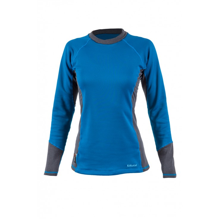 Outercore longsleeve:  The heavyweight when you need it. OuterCore insulation is made with recycled Polartec® PowerDry® fabric. The jersey face enables smooth layering under the outer waterproof garments, with plush velour interior for comfort against the skin and efficient moisture transport.