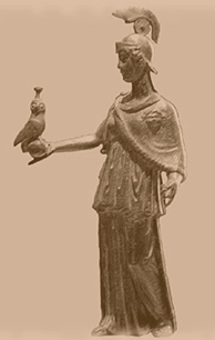 The name of the foundation, Minerva, was inspired by the Roman goddess, the Etruscan adaptation of the Greek Athena. Minerva was the goddess of wisdom and war, poetry and medicine, commerce and schools, crafts and magic.