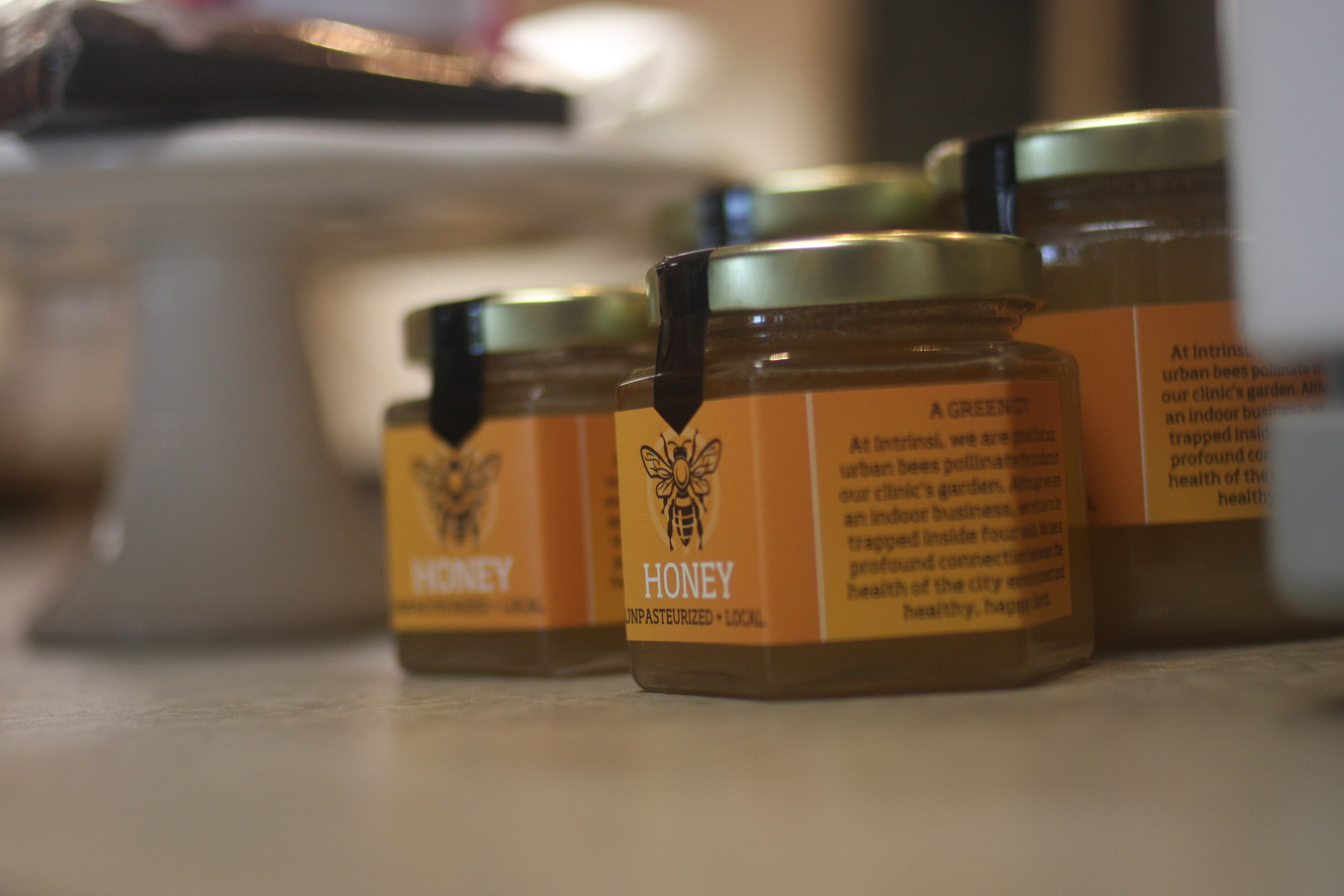 My honey ... and it's pretty labels