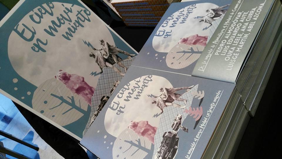 """Presentación """"El Cielo en Movimiento"""" libro de Pedro Almodóvar, Abel Azcona, L.Eduardo Aute entre otros..."""