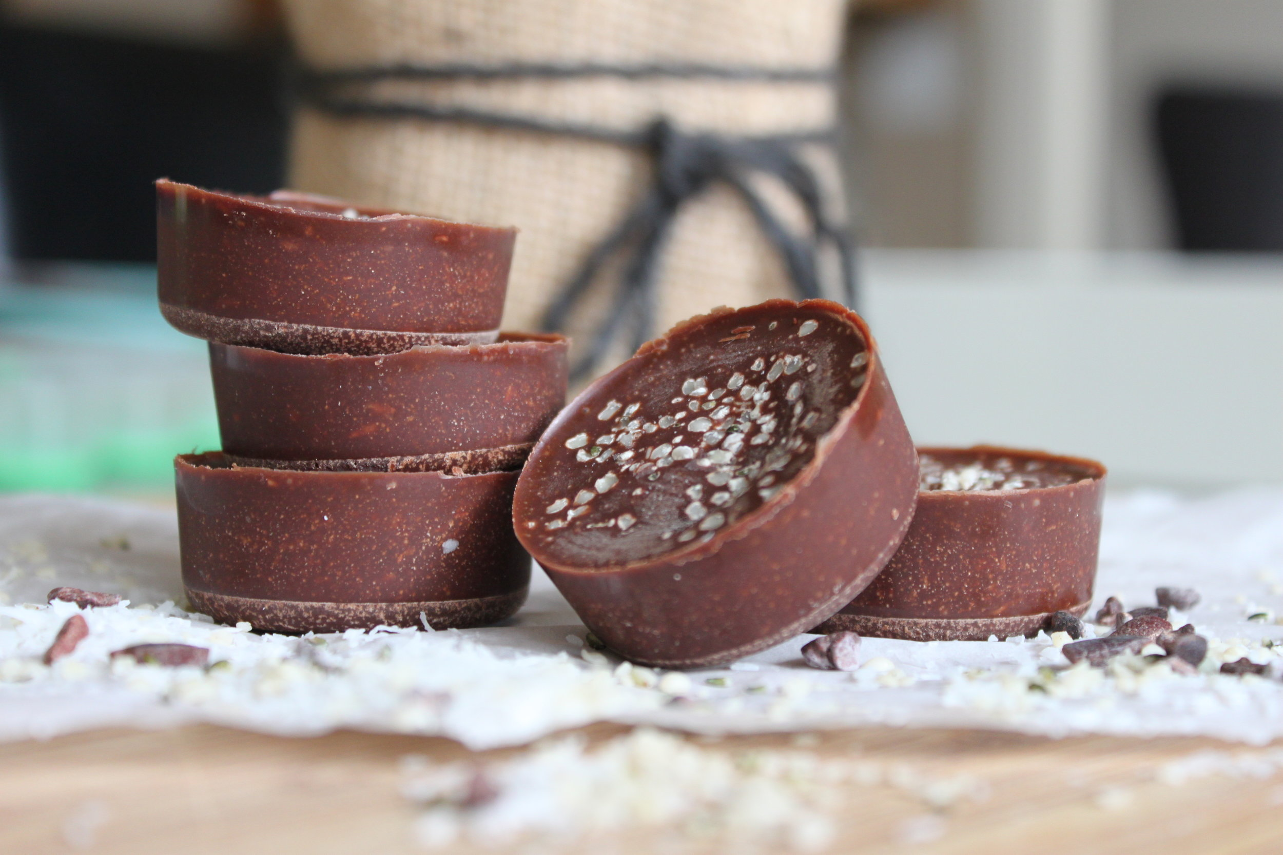 chocolate coconut candy