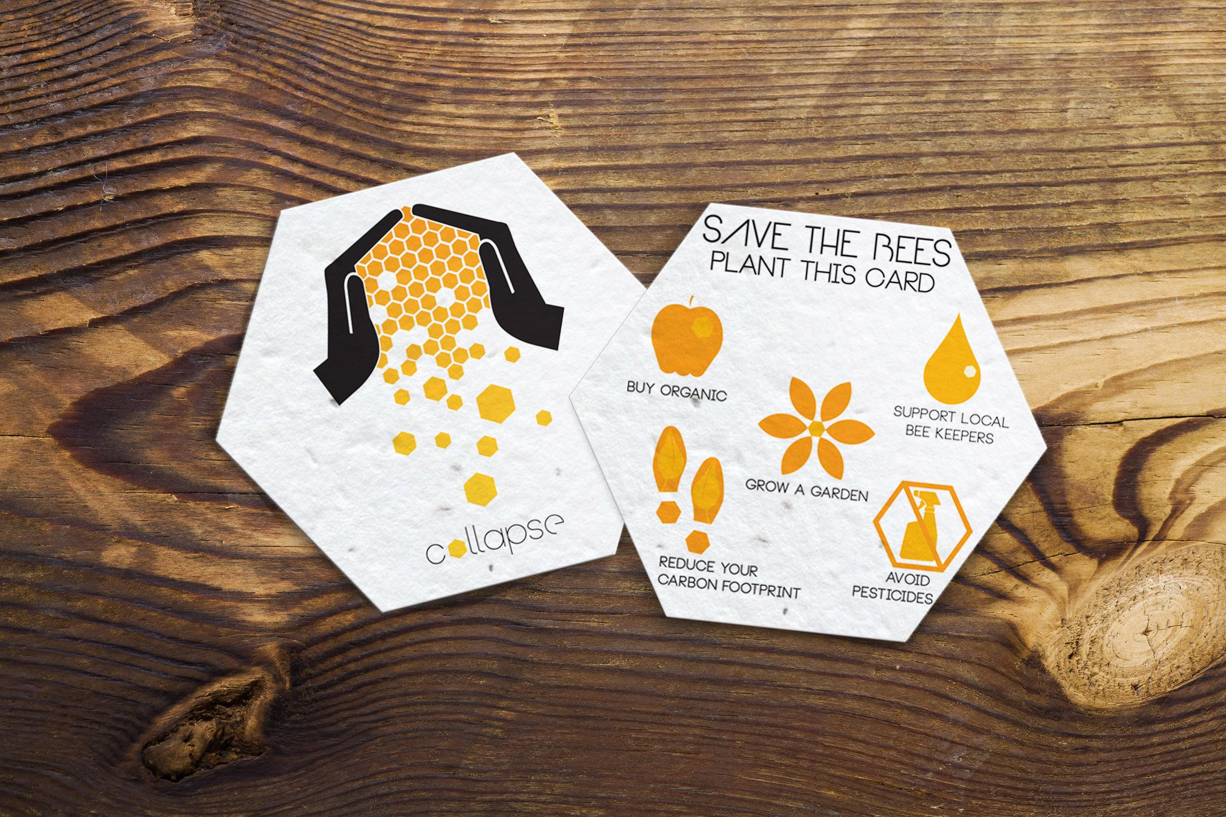 Plantable Informational Card