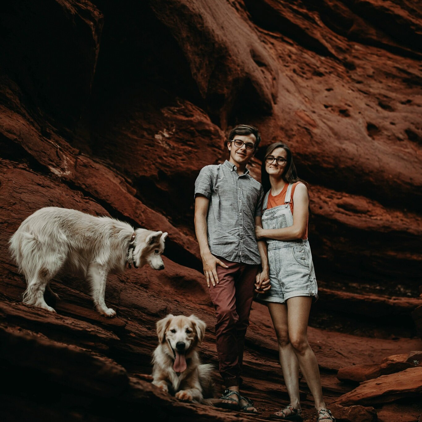 choosing wild- utah elopement photographers