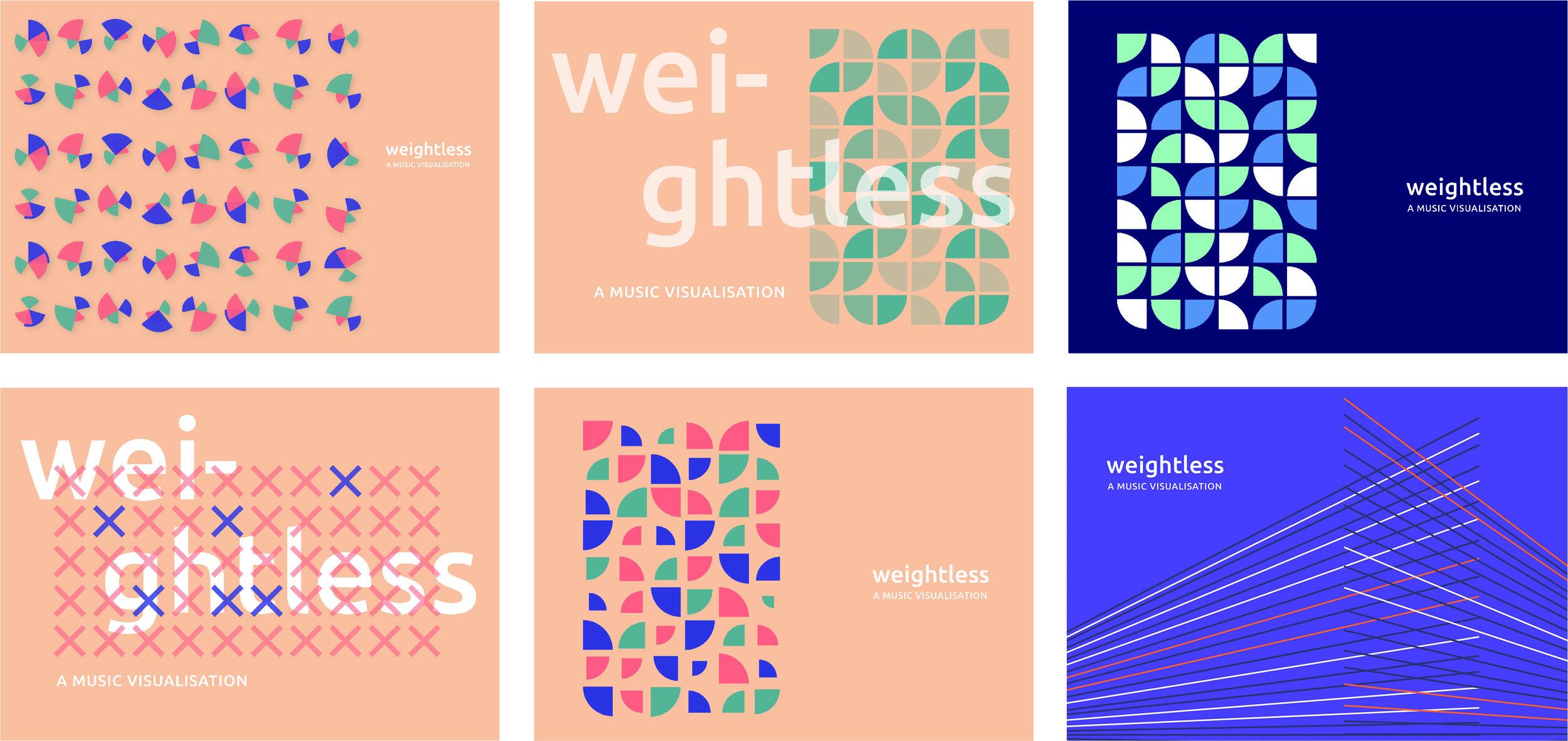 Digital concepts for design direction.