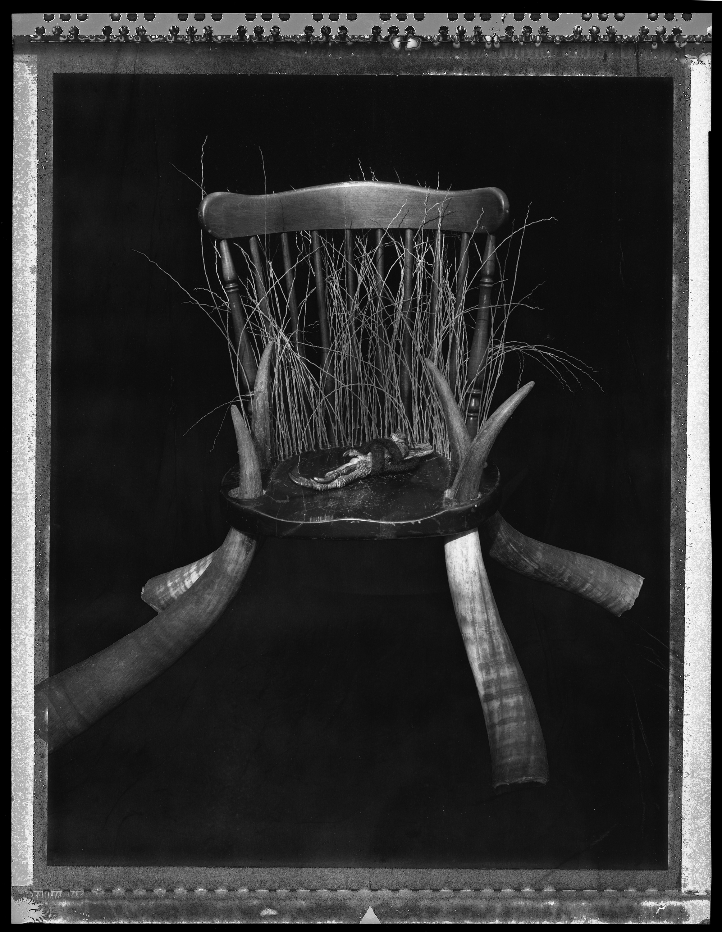 Throne For Grandfather Baker, 1990