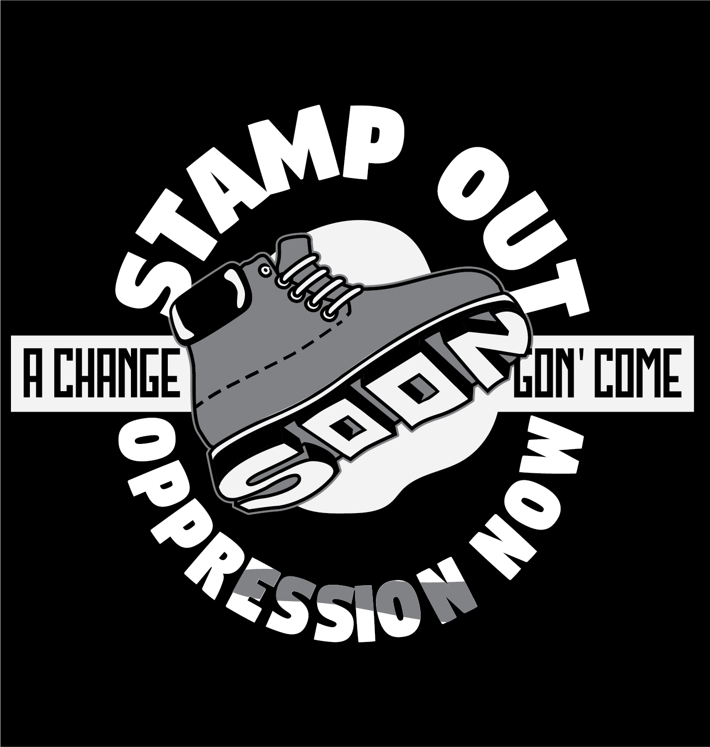 SOON: A Change Gon' Come - In solidarity with CTCORE-Organize Now!, SOON (Stamp Out Oppression Now): A Change Gon Come, employs urban, suburban, and rural strategies to advance racial justice across Connecticut.