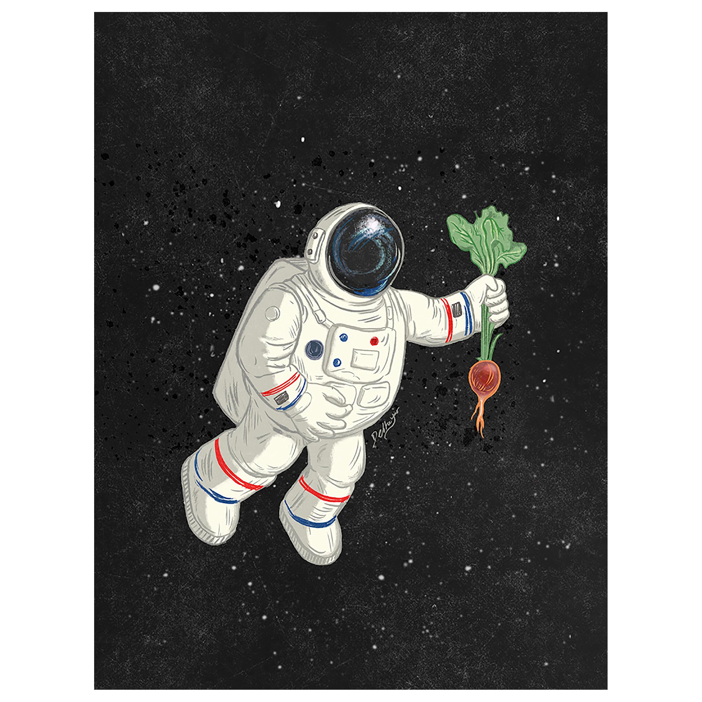 NASA Growing Vegetables in Space