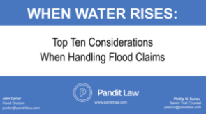 WHEN THE WATER RISES - TAPIA 2018 PresentationClick to Download