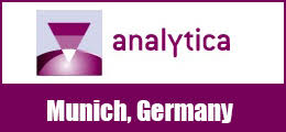 MEET US AT ANALYTICA BOOTH B2.225 MUNICH, GERMANY 31 MARCH - 03 APRIL 2020