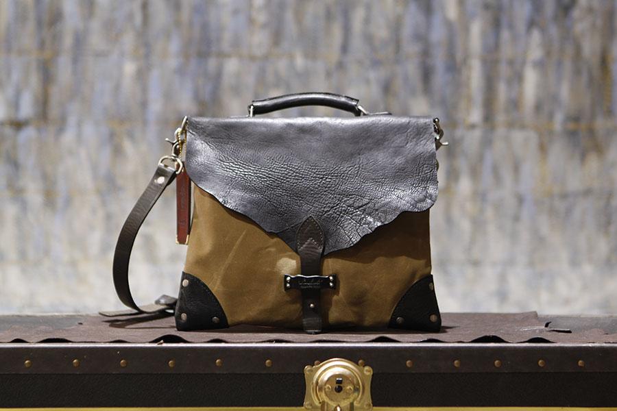 American Satchel in Italian Horse Leather