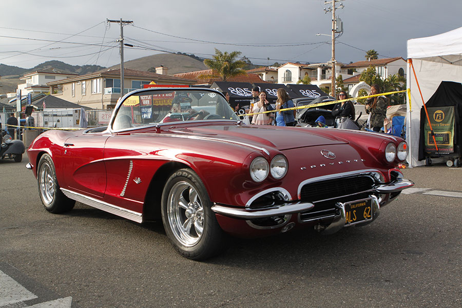 57 Chevy Corvette. This would be my 1st classic car.