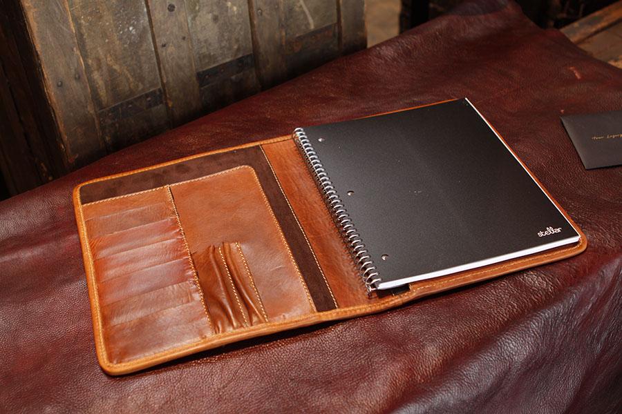 Custom Leather Organizer for William