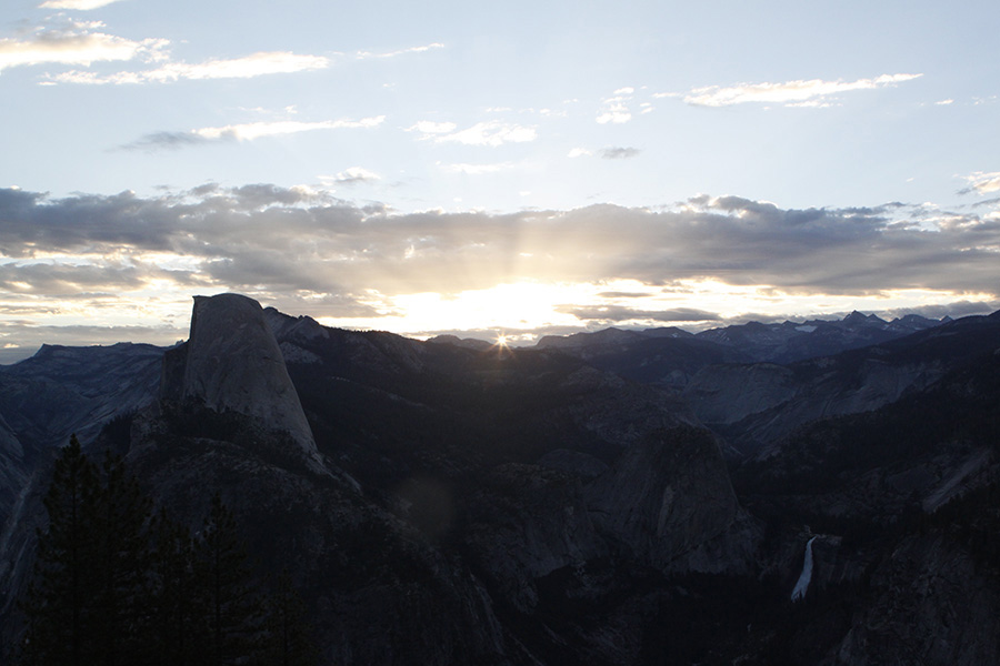 Sunrise - near Glacier point