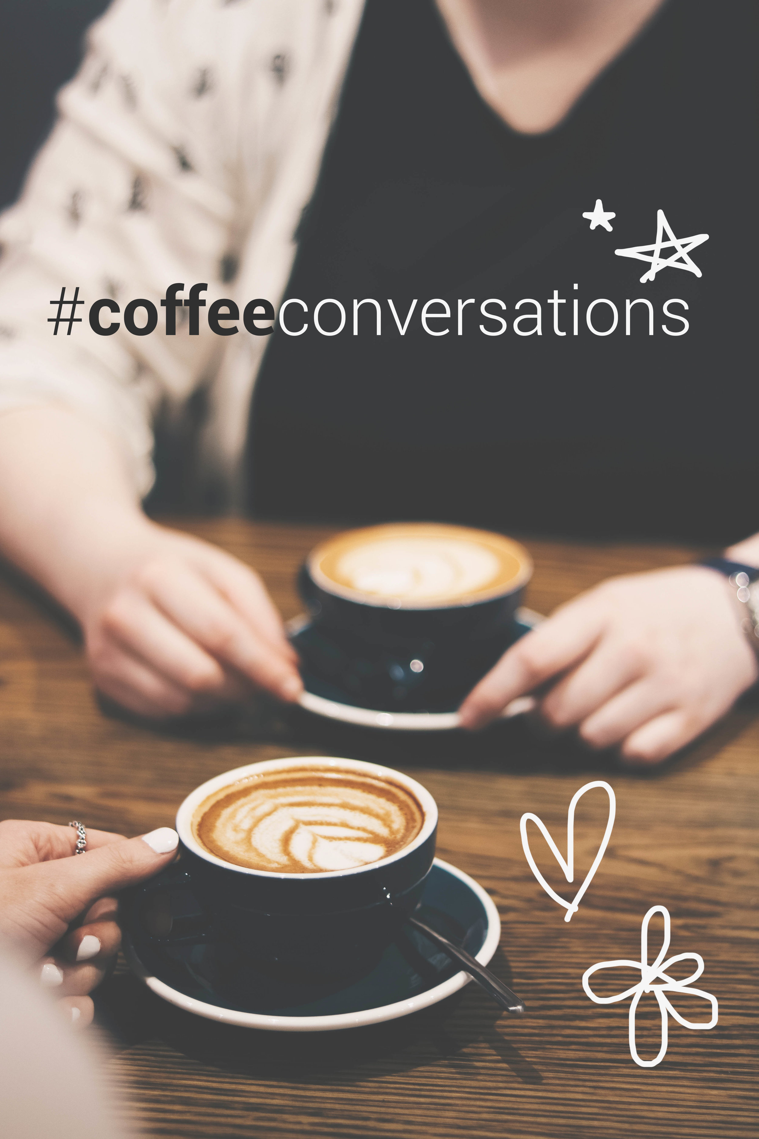 Coffee Conversations promo poster