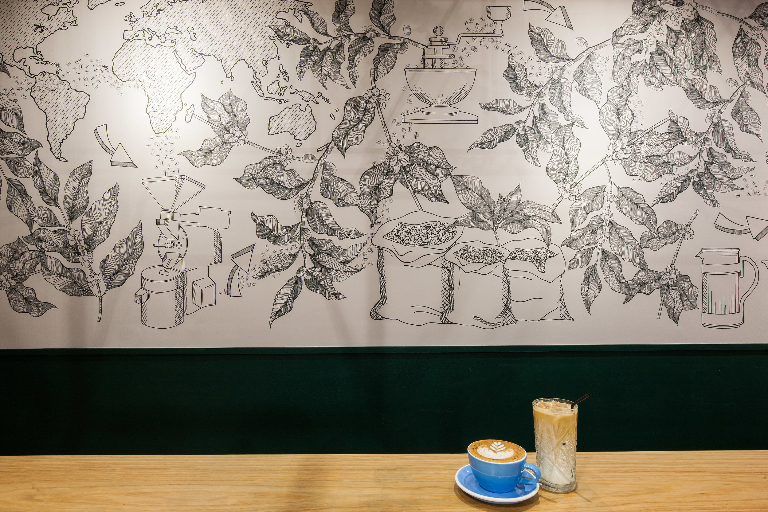 BEAR Derby wall art