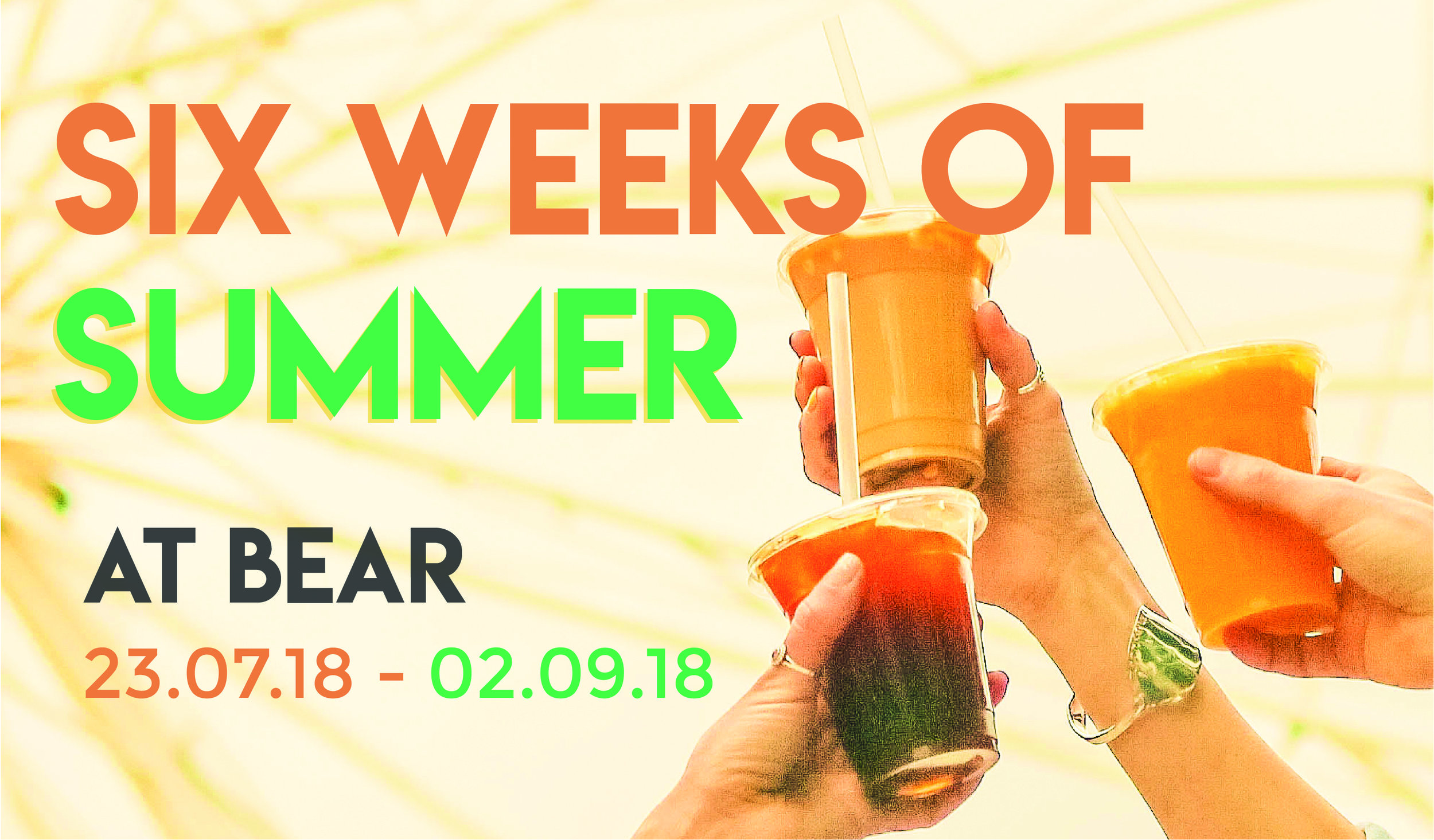 Six Weeks of Summer Promo Banner