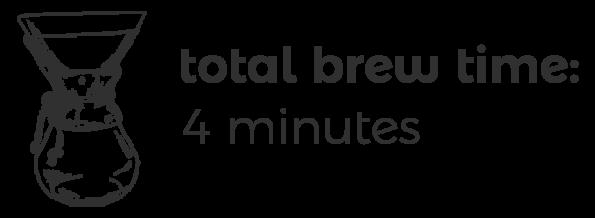 Chemex Brew Time